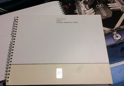 Rolls-Royce Ghost Product Reference Guide brochure internal use only