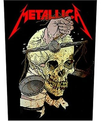 METALLICA BACK PATCH New Official HARVESTER