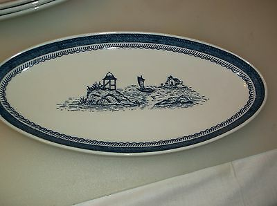 "Syracuse OLD CATHAY 12"" x 5 3/4"" Relish Plate"
