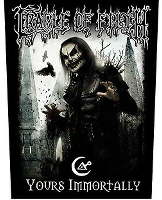 CRADLE OF FILTH BACK PATCH New Official YOURS IMMORTALY