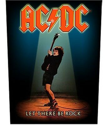 AC/DC BACK PATCH New Official LET THERE BE ROCK