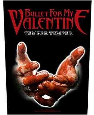 Bullet for my valentine BACK PATCH New Official Temper temper