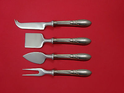 Rose Marie by Gorham Sterling Silver Cheese Serving Set 4pc HHWS  Custom