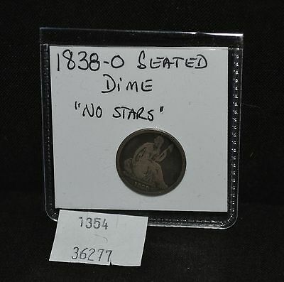 West Point Coins ~ 1838-O Seated Liberty Dime No Stars