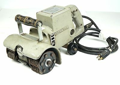 Rockwell Deck CrawlerModel 727 G1 Surface Scaling and Chipping Tool 115 V AC/DC
