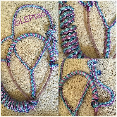 Custom Mule tape Halter with Rope nose