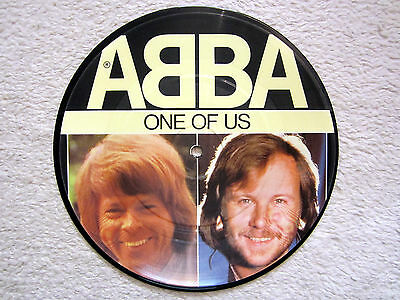 PICTURE Single / ABBA / ONE OF US / 1981 / RARITÄT /