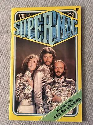 1978 SUPERMAG Magazine BEE GEES Vol 3 No 4 POSTER The WIZ Villechaize FAST! NICE