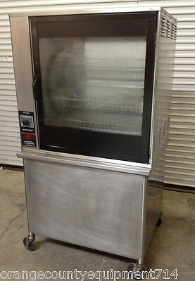 Henny Penny Electric Rotisserie Oven & Stand SCR-8 #4499 Commercial NSF Chicken