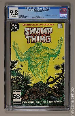 Swamp Thing (1982 2nd Series) #37 CGC 9.8 (1360677005)