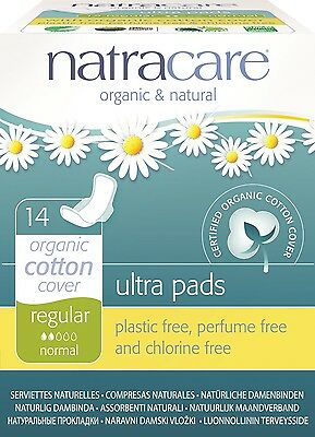 Natracare - Ultra with Wings - Regular - 14 count