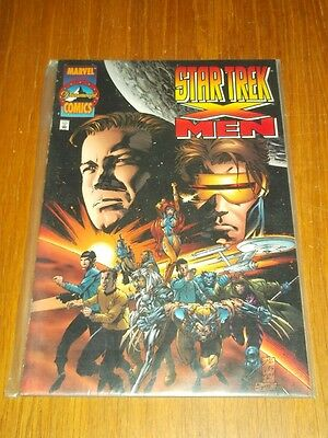 Star Trek X-Men Marvel Paramount Comics Nm (9.4)