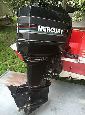 135hp mercury Black Max outboard motor