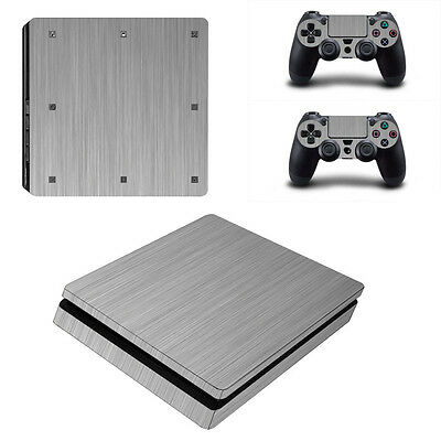 0034* Skin Sticker Vinyl Decal Cover For PlayStation PS4slim Console+Controllers