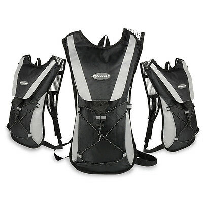 HQ Hydration Pack Water Backpack 2L Bladder Bag Cycling Bicycle Hiking Climbing