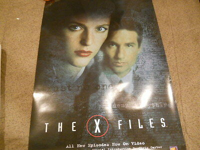 David Duchovny, Gillian Anderson - The X-Files Video Poster 1997