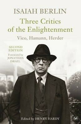 Three Critics of the Enlightenment by Isaiah Berlin Paperback Book