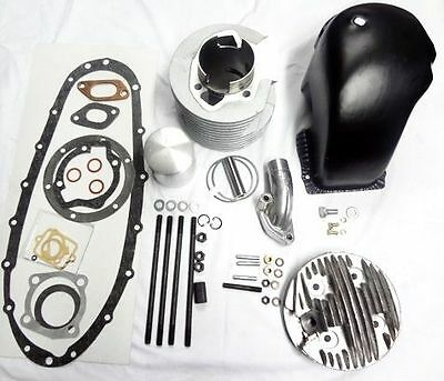 Lambretta Conversion 200 Cc Alloy Cylinder Kit For 125 150 175 185 Cc Engine