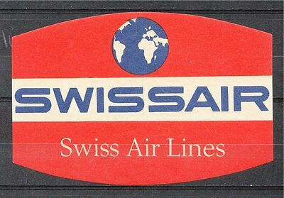 AirLine Luggage Label - Swiss Air