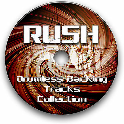 200+ METAL THRASH & Heavy Rock Drumless Backing Tracks Drums Drummer