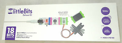 LittleBits Deluxe Kit - Genuine, New & Boxed circuit projects modules in seconds