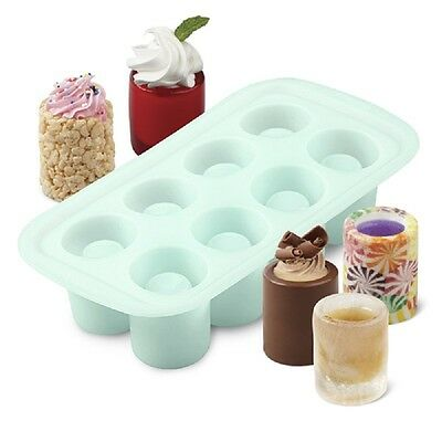 Wilton Silicone, 8 Cavity Shot Glass Mold, 570-0118