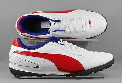 Puma (102035-16) Esito Finale adults football boots - White/Red/Blue