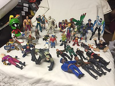 mix lot Of 38 action figures