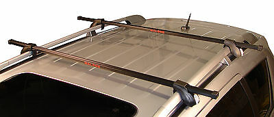 """NEW Malone Auto Racks """"Steel Top""""Universal Car Roof Rack System with 50"""" Bars"""