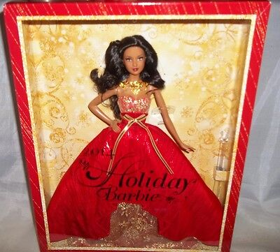 Barbie Collector 2014 Holiday African-American Doll, 6+