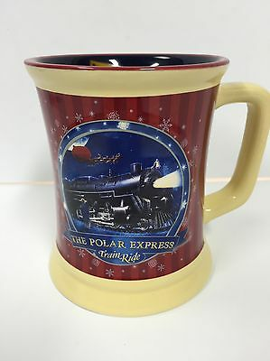 The Polar Express Train Ride Believe Hot Chocolate Ceramic Mug Cup Warner Bros