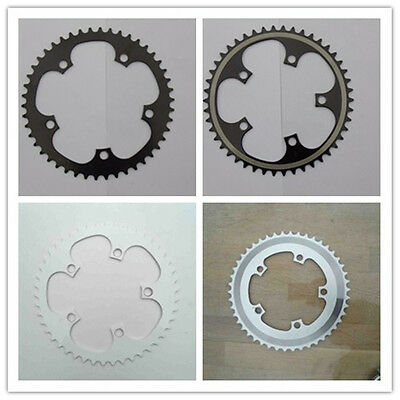 Chainring  5 Bolt BMX Single speed Fixie Bike Bicycle 46t 110mm 130mm BCD