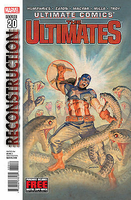 Ultimate Comics The Ultimates #20 Marvel Comics First Print