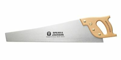 "Spear & Jackson Traditional Hand Wood Saw Skew Back 22"" 10 Points B99"