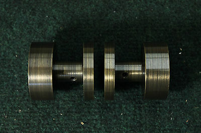 Custom 46 Retro Door Knobs for High End Project with Aligned Finish