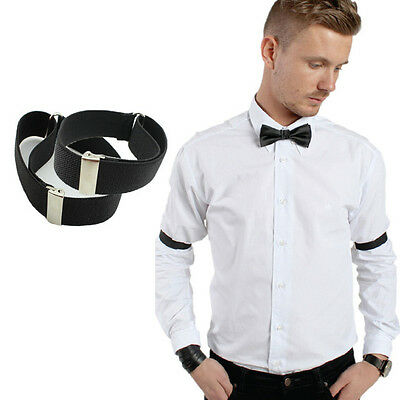 2pcs Adjustable Shirt Sleeve Holders Arm Bands Mens Womens- 16 Colours Available