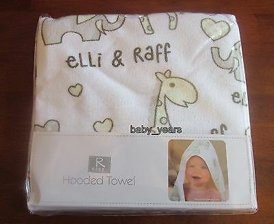 Baby Hooded Bath Towel Soft Cuddle Robe Wrap Girls Boys Bathtime New