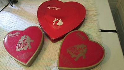 Vintage Chocolate Heart Box Brach's Russell Stover 1950s