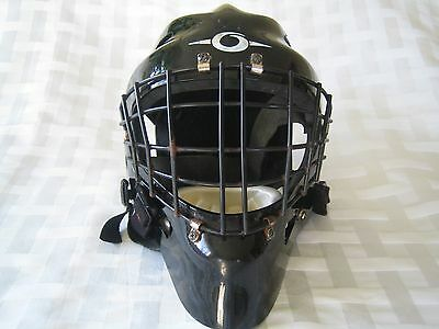 VINTAGE OLIE ICE HOCKEY GOAL TENDERS GOALIE MASK CAGE Preowned