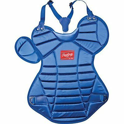 "NEW Rawlings AGP 17"" Adult Baseball Catcher's Chest Protector Royal"
