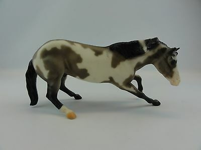 Breyer Horse #3355 Cutting Horse 2000-2001 Grullo Paint Classics Series