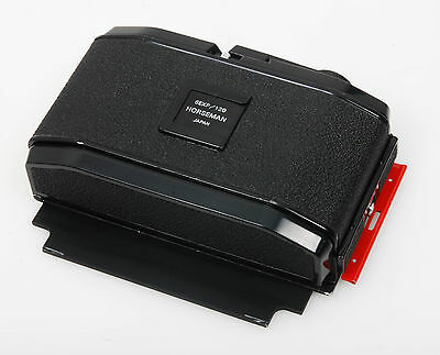 Ebony Finesse 6x12cm film holder and focus screen for 4x5 technical camera