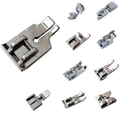 Presser Foot Feet Snap On For Brother Janome Singer Domestic Home Sewing Machine