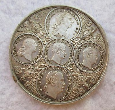 Germany Prussia 1904 Silver Prussian Kings Medal As Pictured G9118