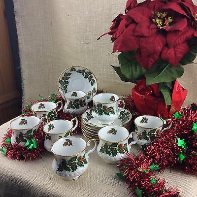Queens Yuletide Cup and Saucer