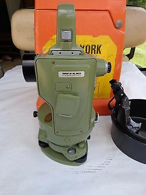 Wild Heerbrugg T16 Theodolite, Case & Bullet Case, Excellent Conditition