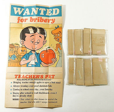 Lot of (9) Assorted 1967 Topps Wanted Posters