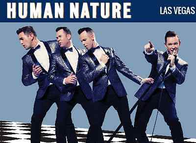 2 tickets to Human Nature -The Ultimate Jukebox Tour - Fri 3 Feb 2017 Melbourne