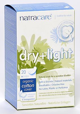 Natracare - Dry & Light Incontinence Pad - 20 count