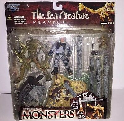 Todd McFarlane's The Sea Creature Black Lagoon Playset Series 2 1998 Monster NIB